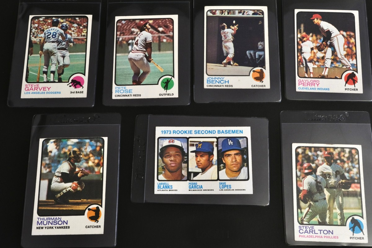 Father John Ubel began collecting baseball cards in the 1970s.
