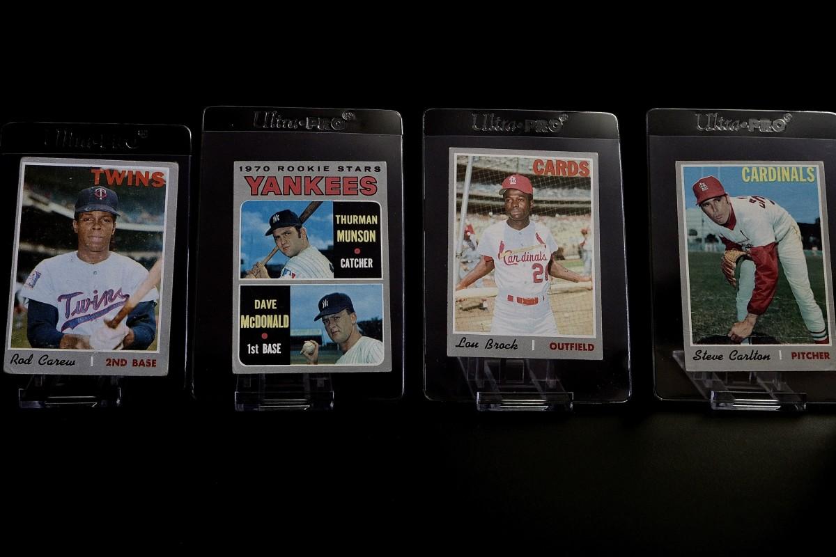 Father John Ubel collection featuring favorite Rod Carew.