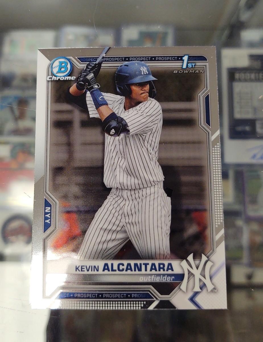 2021 Bowman Baseball Kevin Alcantara