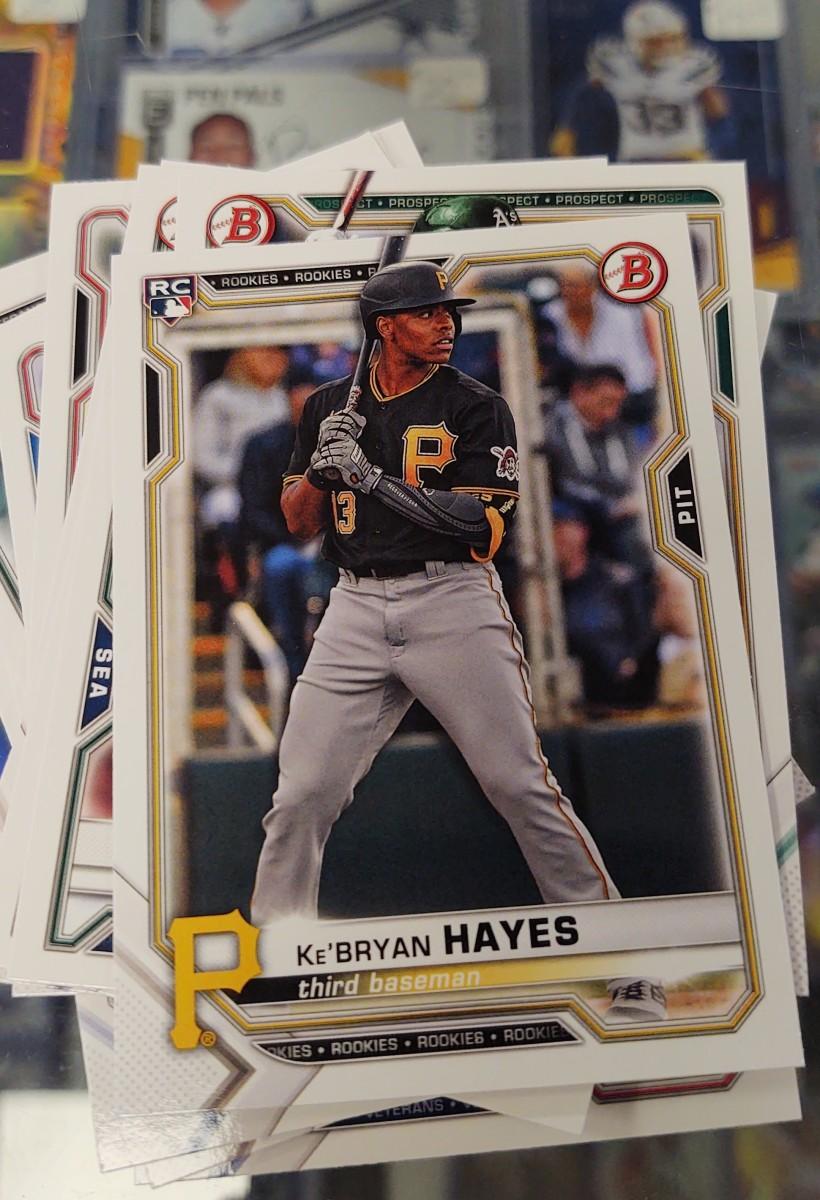 2021 Bowman Baseball Ke'Bryan Hayes