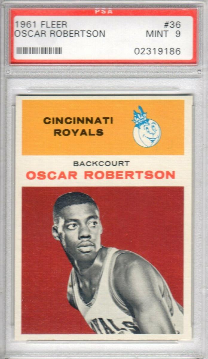 A 1961 Fleer Oscar Robertson
