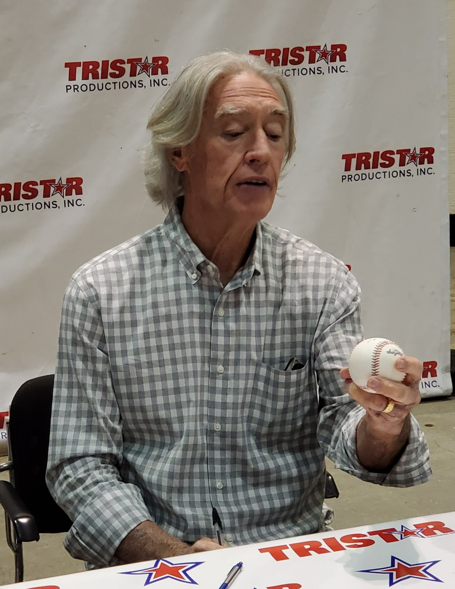 Hall of Famer and former St. Louis Cardinals great Ted Simmons.