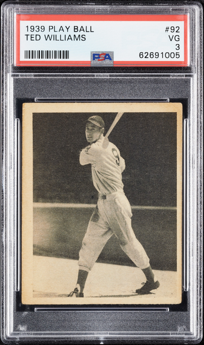 1939 Play Ball Ted Williams at Collect Auctions