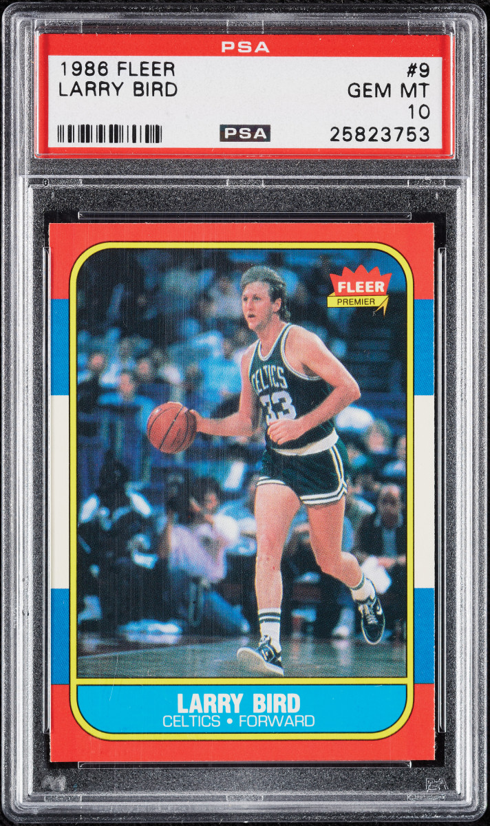 1986 Fleer Larry Bird at Collect Auctions
