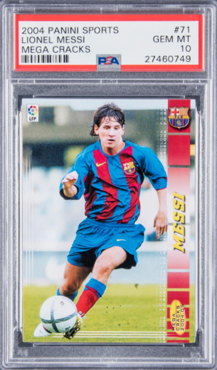 2004 Panini Lionel Messi.