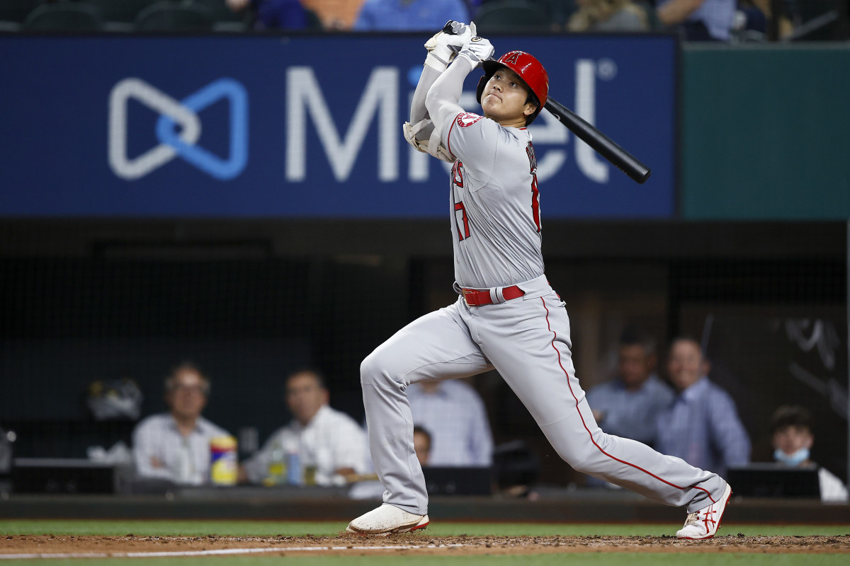 Japanese star Shohei Ohtani leads the majors in home runs while starring on the mound for the Angels.