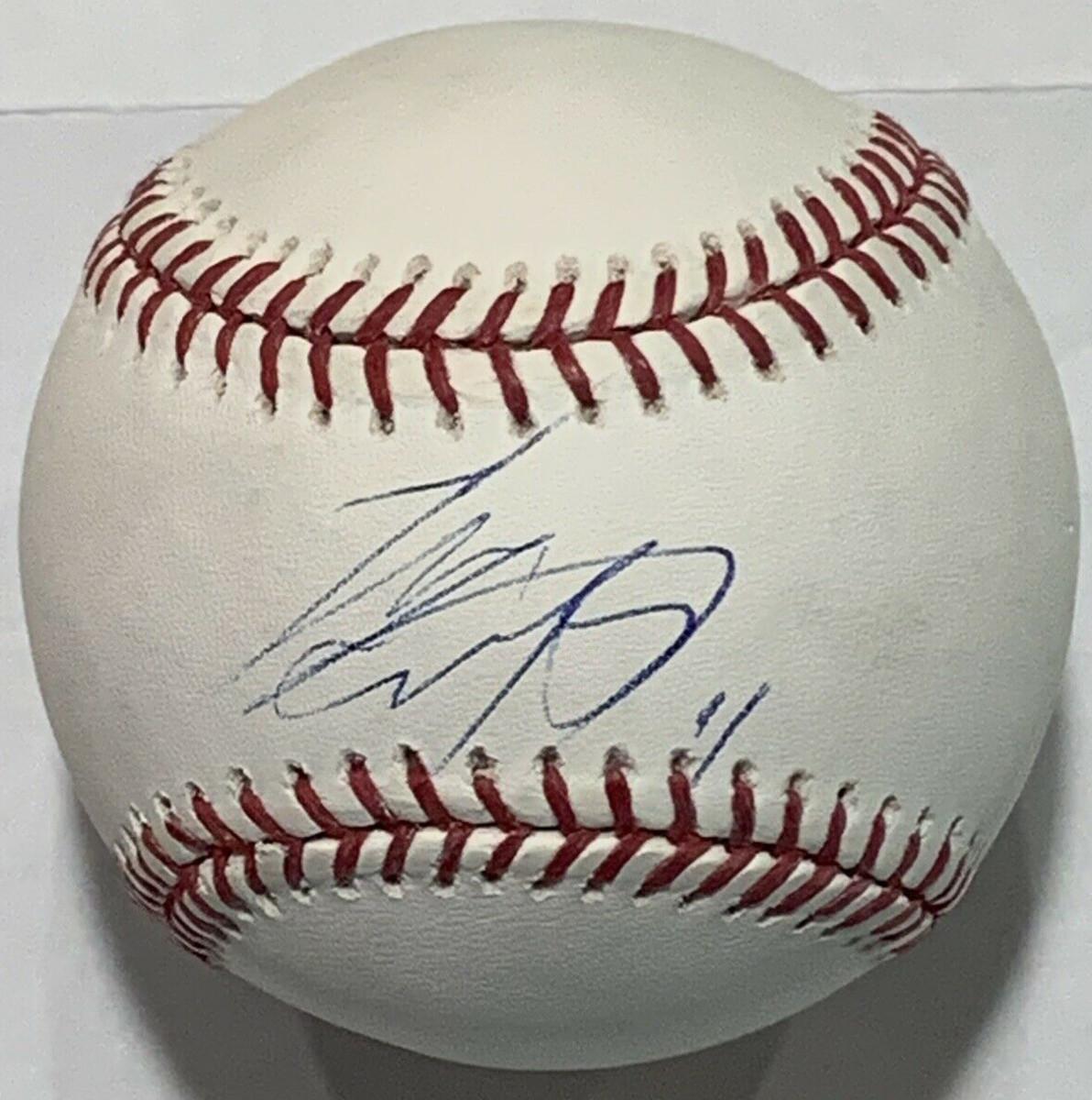 A Shohei Ohtani-signed baseball.