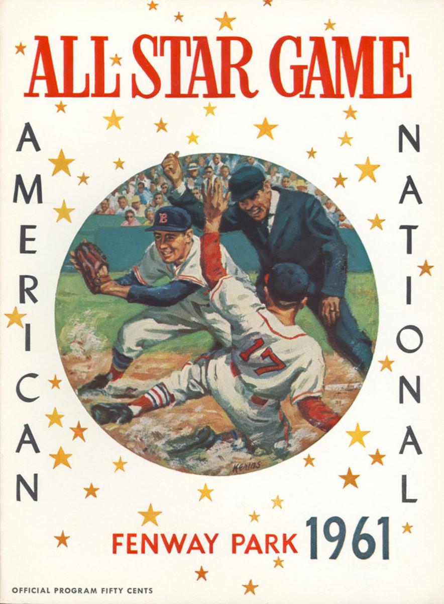 1961 All-Star Game program.