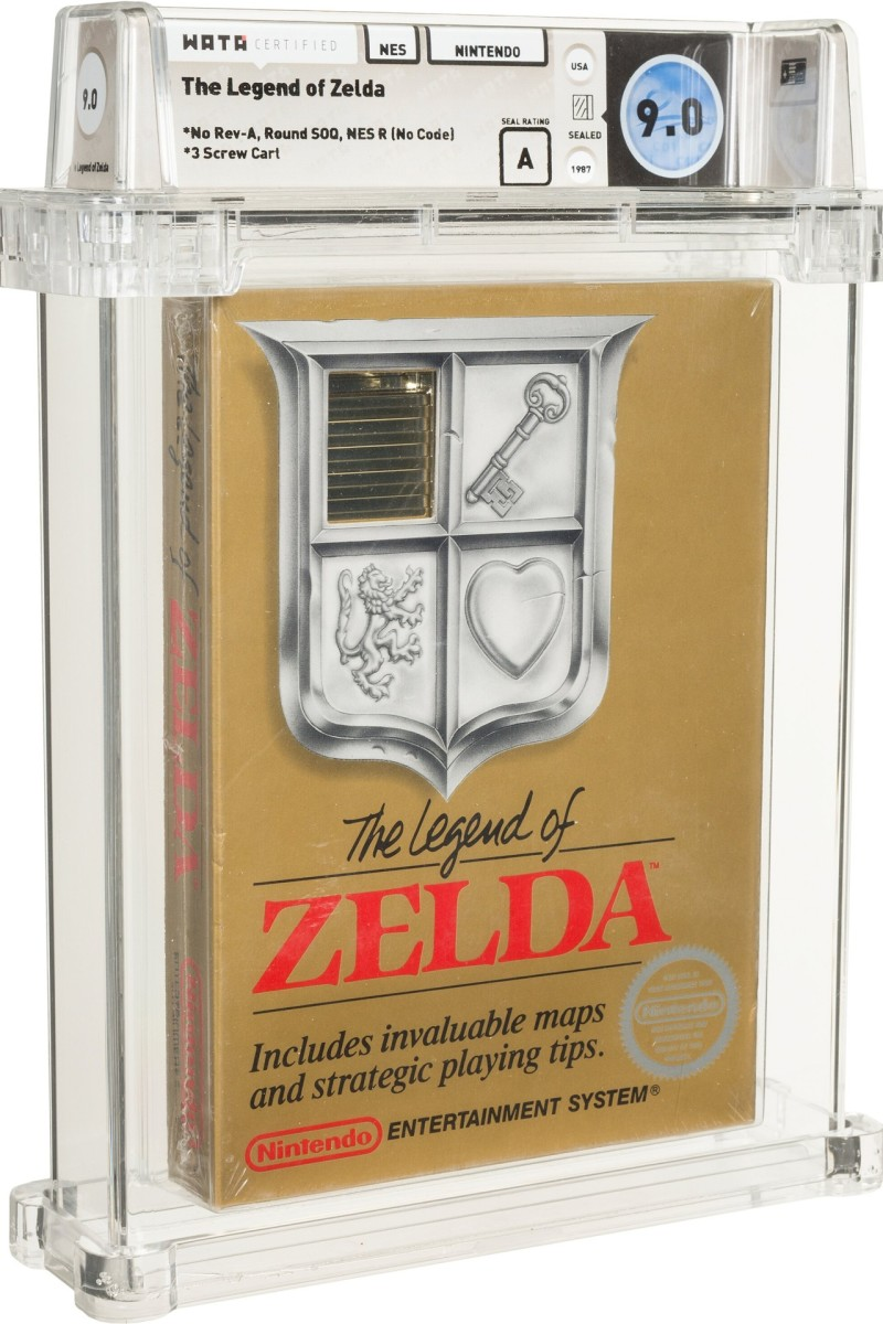 The Legend of Zelda game graded by Wata Games.