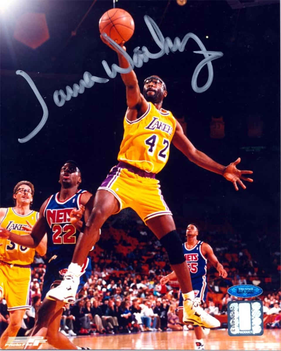 James Worthy's autograph will be in high demand at the 2021 National.