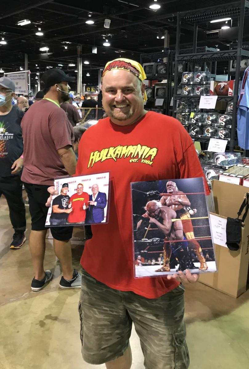 A Hulk Hogan fan.