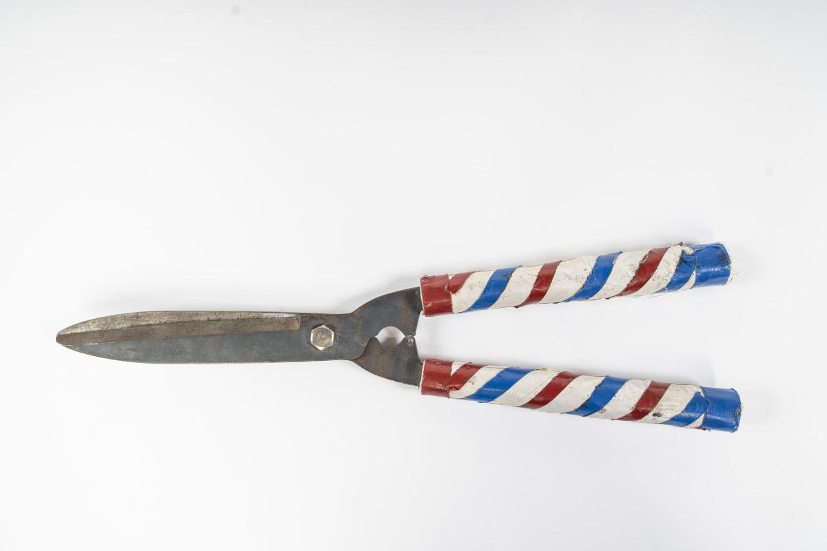 "Brutus ""The Barber"" Beefcake's shears."
