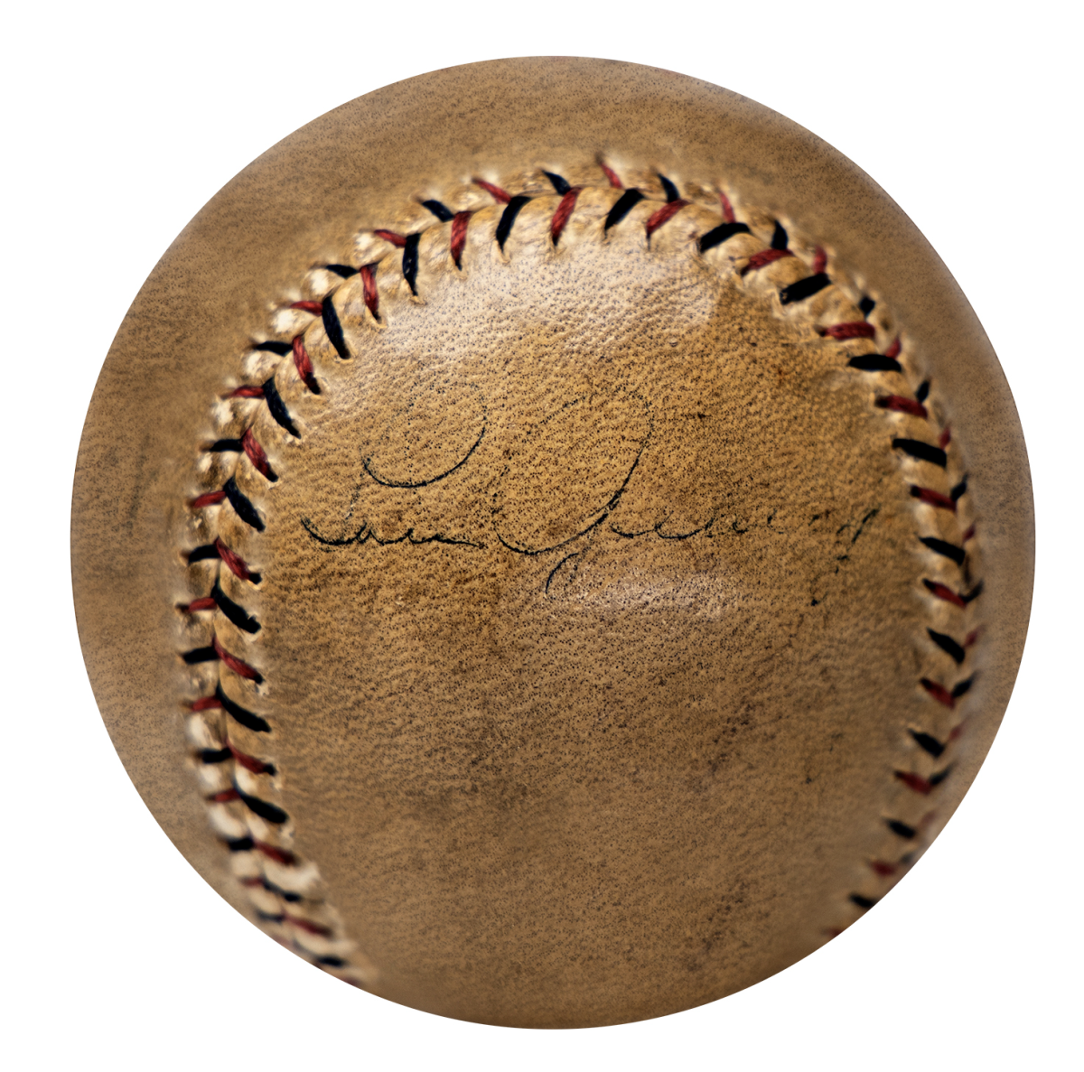 Baseball signed by Lou Gehrig, Babe Ruth and Christy Mathewson up for auction at Gotta Have Rock and Roll.