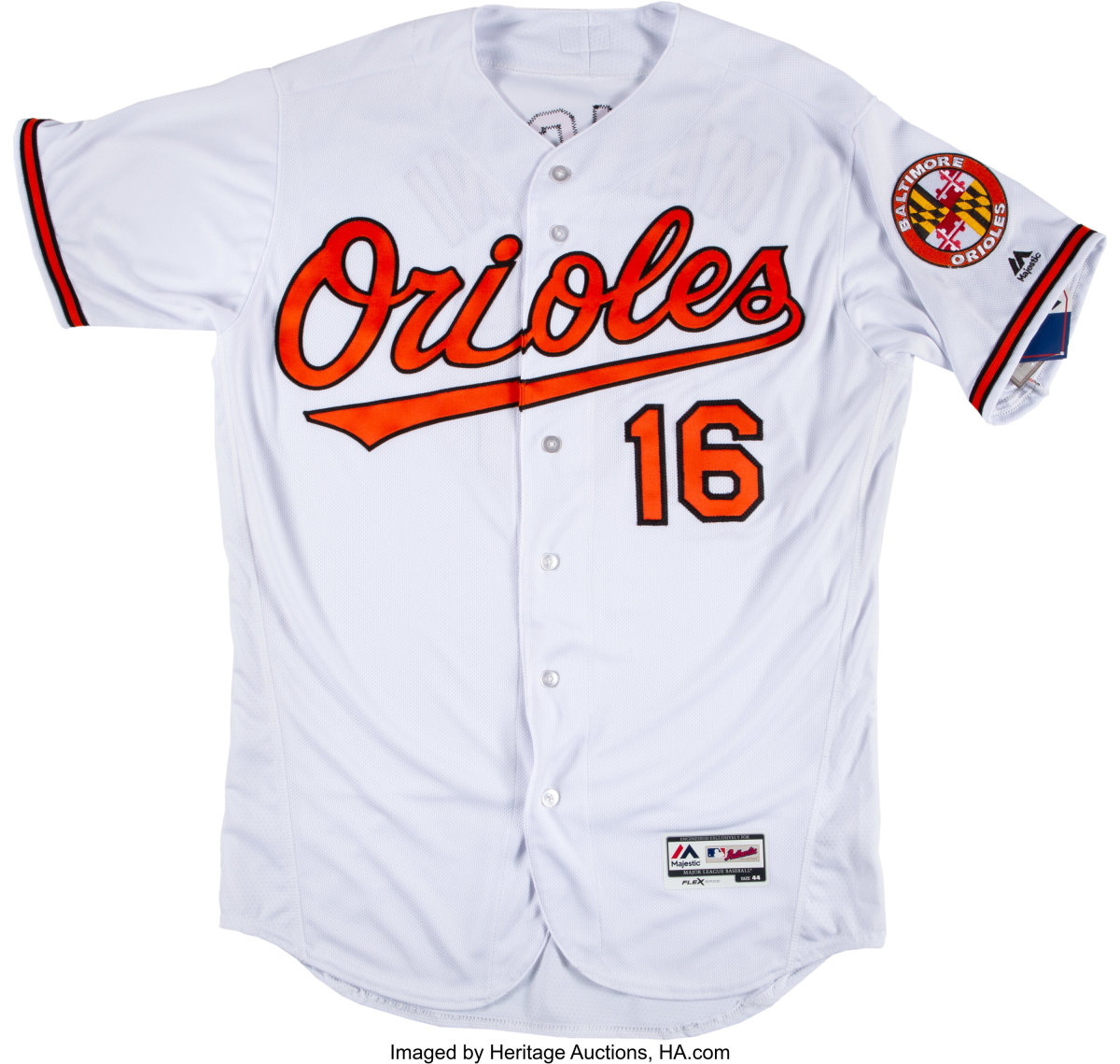 Trey Mancini jersey up for bid in Heritage's Bid 2 End Cancer Charity Auction.