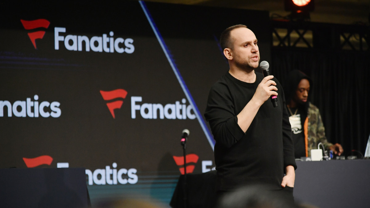 Fanatics Founder/Executive Chairman Michael Rubin at the Fanatics Super Bowl Party at the College Football Hall of Fame in 2019.