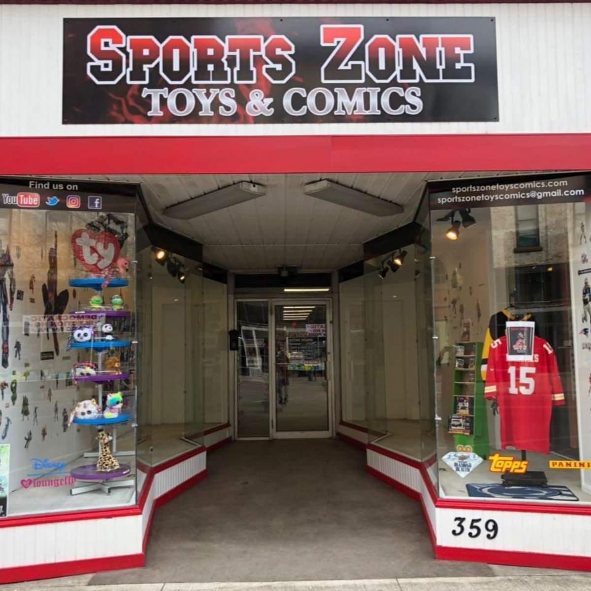 Sports Zone Toys & Comics in Sunbury, Pa.